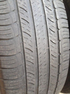 4 Michelin Summer tires 225-65-17