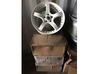 """18"""" alloy wheels alloys rims tyre tyres Honda Lexus Toyota 5x114"""