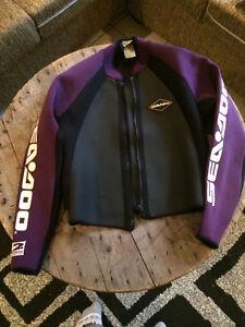 Women's wet suite jacket