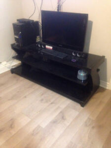 "60"" Glass TV STAND - Delivery Included"