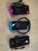 3 MOPHIE CASES - iPhone 5/5S