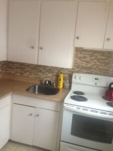 Avail NOW! one bedroom incl heat and hot water $695