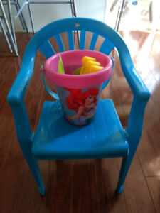 Baby Chair & sand toys