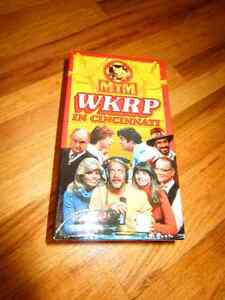 3 VHS tapes of WKRP In Cinncinatii