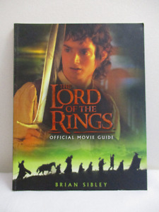 Lord of the Rings Official Movie Guide Paperback 2001 - Like New
