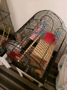 Bird Cage with  nest box for sale