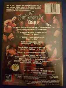 WWF Judgment Day DVD  (RARE) London Ontario image 2