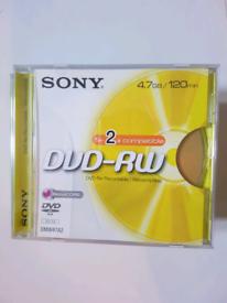 Sony DVD-RW Disks, Sony, Packard Bell, Memorex, Fujifilm CD-R - 28,