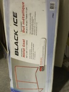 "54"" Black Ice hockey net (Metal Goal)"