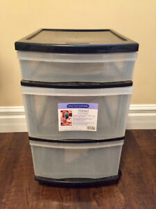 For Sale: Gracious Living plastic storage on wheels
