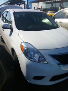 2013 Nissan Versa SV Sedan with 1.6 L eco engine