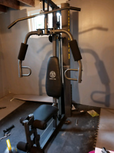 Home gym - Golds Gym XRS 50
