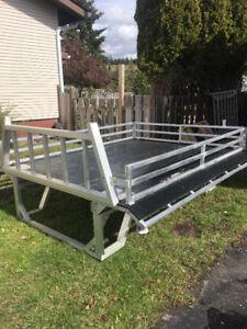 Aluminum ATV/Snowmobile Deck