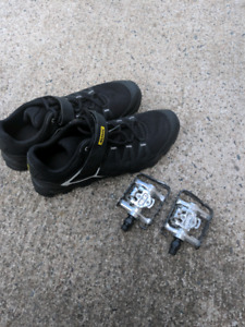Spd pedals and shoes