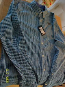Chemise Homme Chaps, achat jan 2019, gr X-Large, neuf