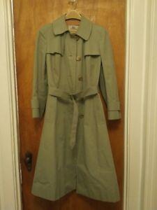 Aquascutum of London Womens Maxi Length Trench Coat $80