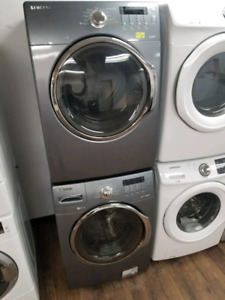 SAMSUNG WF350ANG/DV350ENG STACKABLE WASHER & DRYER