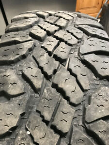 4 Tires Pneus Goodyear DURATRAC   LT 265 70 17  Good shape A1
