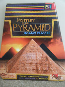 Mystery of the Pyramid Jigsaw Puzzle
