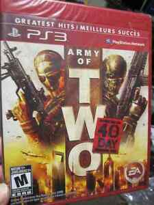 Army of Two, The 40th Day for PS3, New, Sealed