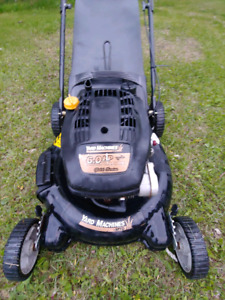 "Rear bag lawnmower / mulcher 21"" cut 6hp"