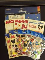 Disney Paper and Sticker collection