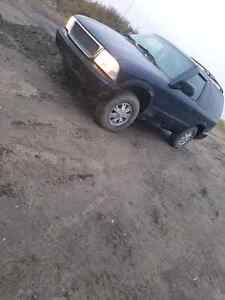 2002 GMC JIMMY SLT 2 DOOR