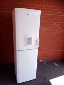A+ class Frost free Beko fridge freezer with water dispenser