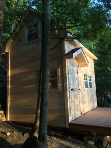 Bunkie with loft