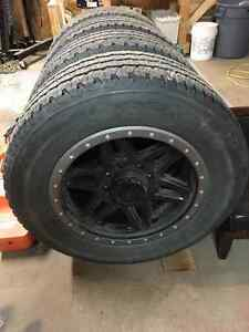 20 inch Gear rims with LT285/60R20 Firestone M/S tires
