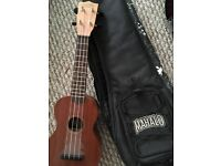 Mahalo uke with bag