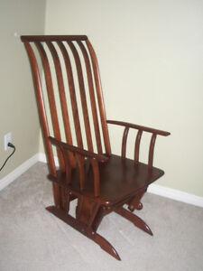 SOLID WOOD morigeau rocking chair