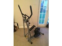 Pro Fitness Cross Trainer as new in great condition and already assembled.