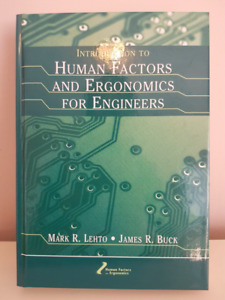 Introduction to Human Factors & Ergonomics for Engineers- 1st Ed