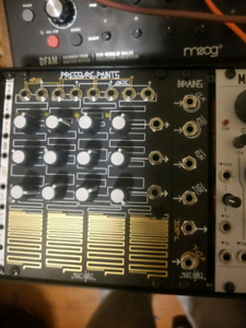 Make noise eurorack brains and pressure points for sale