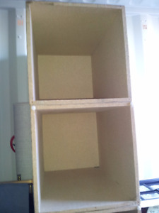 Display cabinets for sale.