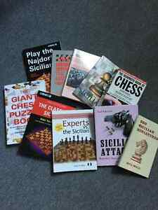 Various chess books lot (Aylmer)