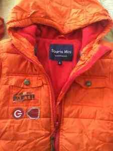 Habit neige Souris mini 3T avec accessoires Polar