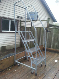 """40"""" Portable Warehouse Stairs"""