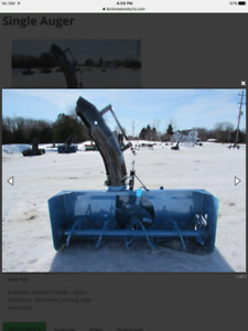 """Three point hitch 78"""" snowblower for sale OR TRADE FOR 60"""" 3ph b"""