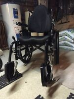 Nearly new wheelchair