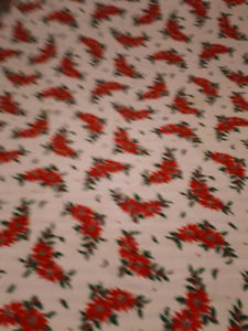 Christmas tablecloth Square 68 inch long by 54 inch wide