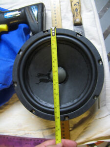 Epi or Epicure 8 inch Woofers.