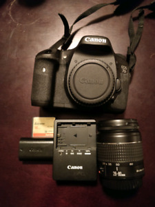 Canon 7D body (with extras)