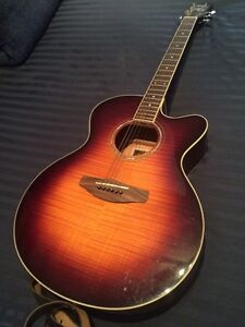 Yamaha CPX500III Electric-Acoustic Guitar, Vintage Sunburst
