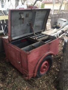 1940's bell Canada linesman trailer