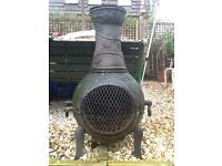 Cast Iron Out Door BBQ Oven