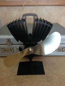 2 X Ecofan Airmax Heat Powered Stove Fans For Sale