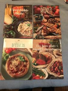 Livres de cuisine neufs