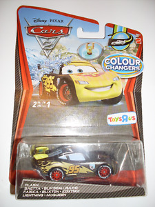 Voiture Flash McQueen Lightning MINT Colour Changers CARS 2